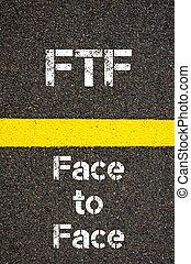 acronyme, ftf, business, figure