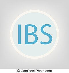 acronyme, intestin, ibs, (irritable, syndrome)