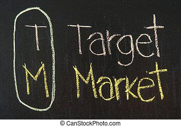 acronyme, marché, cible, tm