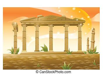 acropoli, grecia