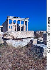 acropolis, atény, erechteion, řecko