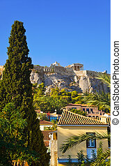 Acropolis at Athens, Greece - travel background