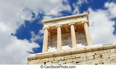 """""""Acropolis, Athens, Greece, Timelapse, 4k"""""""