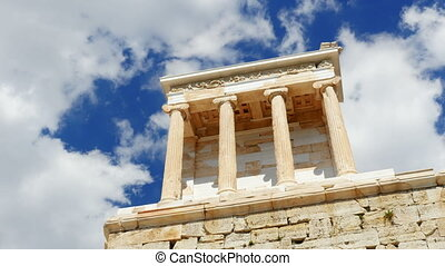 """""""Acropolis, Athens, Greece, Timelapse, zoom in, 4k"""""""