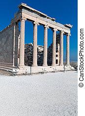 acropolis, erechteion, atény