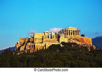 Acropolis in Athens, Greece