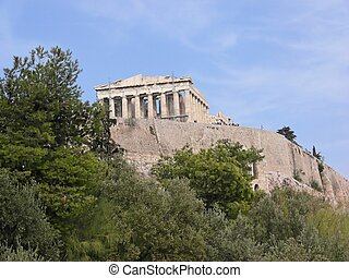 Acropolis in Athens.