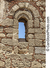 Acropolis in Lindos town, Rhodes