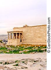 Acropolis of Athens, architectural monument, tourist...