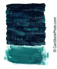 acryl, marinier, textuur, gekleurd