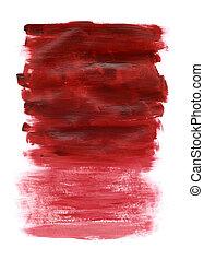 acryl, rood, textuur
