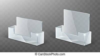 Acrylic card holder, glass plastic display stand - Acrylic ...