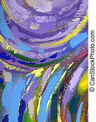 painting abstract texture background