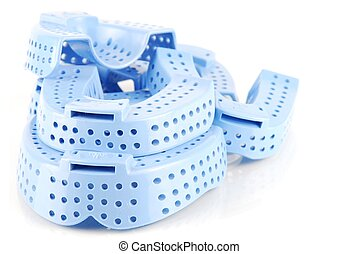 Acrylic trays - different sizes of acrylic trays for teeth...