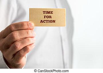 actie, concept, creatief, tijd