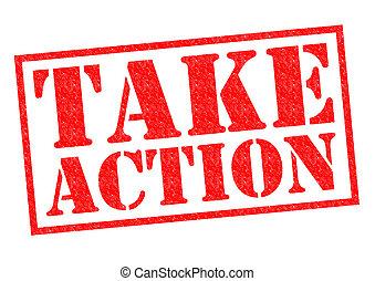 actie, nemen