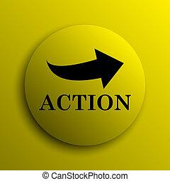 actie, pictogram
