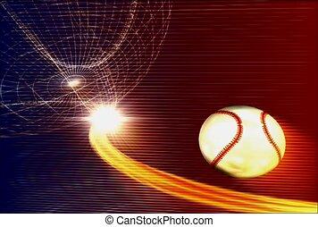 actif, base, balle, joueur