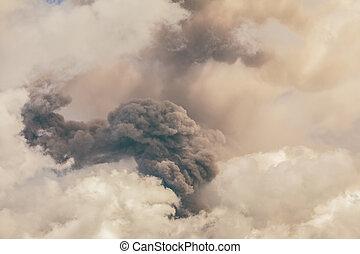 actif, la plupart, tungurahua, une, volcans