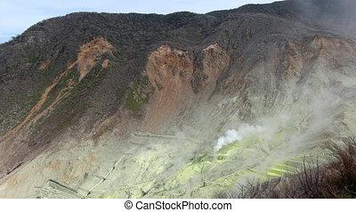 actif, volcan
