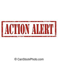 Action Alert-stamp