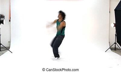 action, breakdance, adolescent, danse