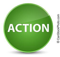 Action elegant soft green round button