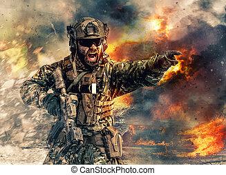 action, forces spéciales