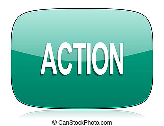 action green icon