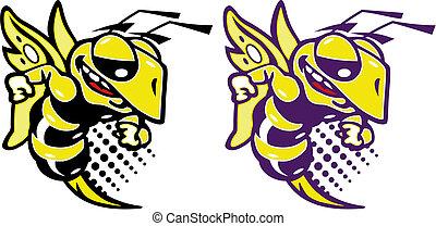 action hornet - cute action hornet