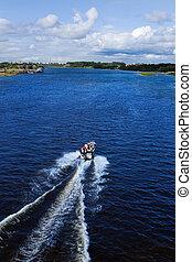 action motor boat