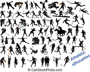 Action Packed Sports. Vector illustration for you design