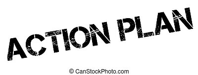 Action Plan rubber stamp