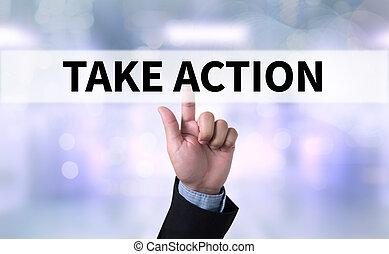 action, prendre