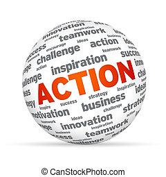 action, sphère