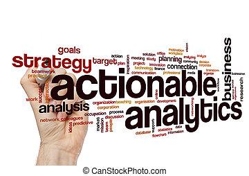actionable, analytics, 概念, 単語, 雲