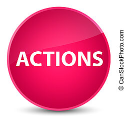 Actions elegant pink round button