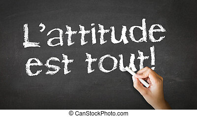 actitud, es, todo, (in, french)