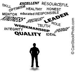actitud, liderazgo