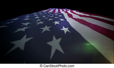 """""""Active American Flag Going Up"""" - """"Powerful 3d rendering of..."""