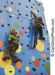 active childs climbing