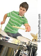 Active drummer
