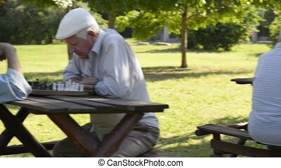 Active retirement and men free time - Active retired people,...