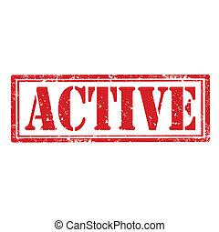 active-stamp