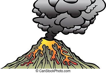 active volcano clipart vector graphics 466 active volcano eps clip rh canstockphoto com volcano clipart png volcano clip art free