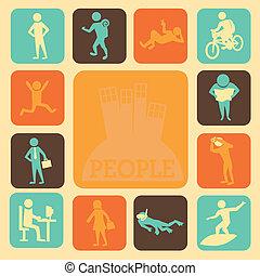 actividades, gente