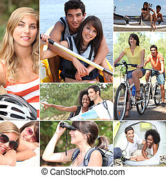 actividades, verano, aire libre