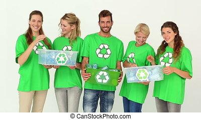 activists, команда, экологическая