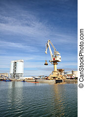 activités, commerce, port, mer