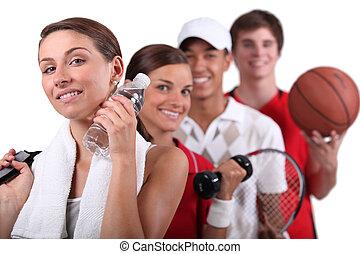 activités, variété, physique